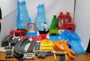 Thomas & Friends Trackmaster Sky High Bridge Jump Track Parts & Pieces Lot