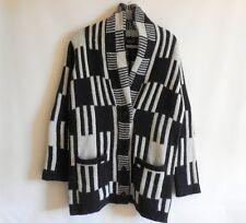 Topshop Women's Knit Long Cardigan Jacket Size 4