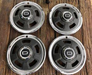 Datsun 240z Series1 Set of 4 Hubcaps