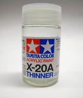 Tamiya #81030 X20A Color Acrylic Paint Thinner 46ml Plastic RC Model Tools X-20A