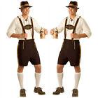 The Bavarian Beer Guy Lederhosen Oktoberfest Outfit Costume Men's Fancy Dress US