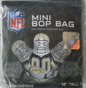 NFL New Orleans Saints 12 inch Inflatable Mini Bop Bag by Fremont Die