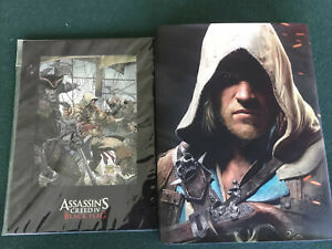 Assassin's Creed Black Flag Todd McFarlane LE Cell Art Lithograph & Hard Book