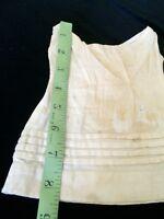 Antique Dolls Slip Petticoat Dress Underwear German French Bisque