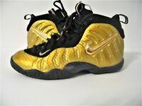 Nike Air Foamposite One Metallic Gold 314996-700 Size 4Y