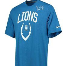Detroit Lions NFL Nike Icona T-shirt da uomo taglia M (media) icona