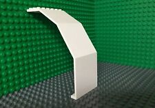 LEGO Vintage 1x White Panel 10 x 6 x 11 Space Exploriens Android Base 6958 #2408