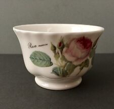ROY KIRKHAM England Bone China Redoute Roses China Sugar Bowl 1996 FREE SHIP
