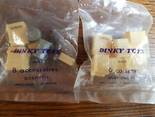 VINTAGE Dinky Toys - accessories by Meccano - unopened / original packaging.