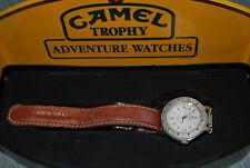 CAMEL Trophy L'Avventura Watch 1995 in scatola condizioni eccezionali-GMT Lunetta fissa