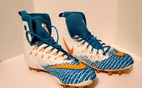 New Nike Force Savage Elite TD Football Cleats Miami Dolphin SIZE 14