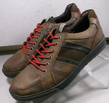 TAMARO BROWN MMSP75 Men's Shoes Size 8 (EUR 7.5) Leather Lace Up Mephisto