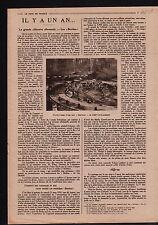 WWI Grosse Bertha Crepy-en-Laonnois/Oloron-Sainte-Marie/Wilson 1919 ILLUSTRATION