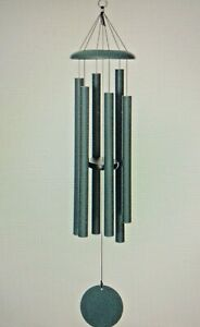 Corinthian Bells windchime by Wind River 50 inch color green T516 USA