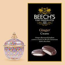 Beechs chocolat foncé Ginger crèmes Boîte 90gm (lot de 3 boîtes)