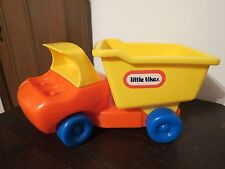 Vintage Little Tikes Truck Chunky Dump Truck Toddle Tots GUC