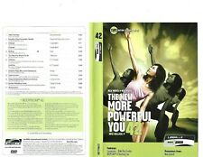 Les Mills Body Flow 42 Complete DVD, CD, Case and Notes