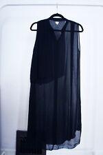 Wilfred Aritzia 100% Silk Sheer Sleeveless Tunic Dress XS