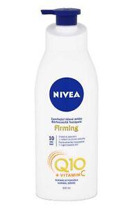 Nivea Q10 Plus Body Lotion Pump with Vitamin C 400ml Normal Skin