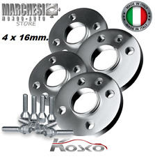 KIT 4 DISTANZIALI RUOTE 16 mm. FORD FIESTA IV-V-VI-VII DAL 1995-> CON COLONNETTE