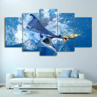Discus fish 3.2 Wall Art Canvas Picture Print