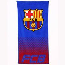 FC BARCELONA FADE LARGE BEACH & BATH TOWEL NEW OFFICIAL