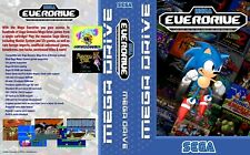 Everdrive:Mega Everdrive PAL  Sega Megadrive Replacement Box Art Sleeve/ Repro