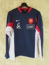 Maillot Sweat training QUINZE de FRANCE rugby porté NIKE FFR shirt collection M