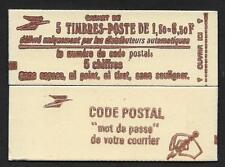 Un carnet guillochis violet N° Gu 2b (période BEQUET)