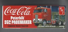 AMT #1090  Peterbilt cabover 352 Pacemaker.  Coke Cola.  1/25th scale.