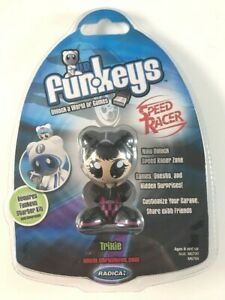 UB Funkeys Speed Racer Trixie Computer Game Quest New