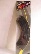 "AURORA AFX 9"" CURVE 1/4 RADIUS TRACK PAIR - NEW IN PACKAGE"