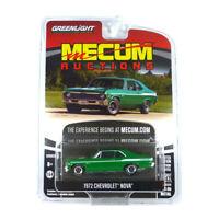 Greenlight 37210-E Chevrolet Nova grün - Mecum Auctions Maßstab 1:64 NEU!°