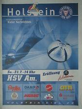Programm 2004/05 KSV Holstein Kiel - Hamburger SV Am.