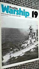 PROFILE WARSHIP #19: HMS HOOD: BATTLE-CRUISER 1916-1941 (1972)