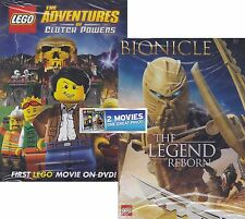 Lego Double Feature: Bionicle The Legend Reborn / Adventures of Clutch Powers