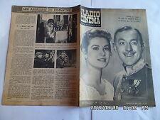 RADIO CINEMA TELEVISION N°328 29/04/1956 GRACE KELLY   G13