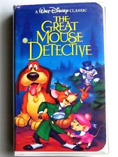 The Great Mouse Detective VHS BLACK DIAMOND CLASSIC (1992)