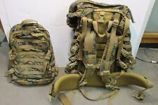 USMC ILBE MAIN RUCKSACK COMPLETE W/ ASSAULT PACK MARPAT NEW BACKPACK ARCTERYX