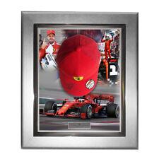 Signed Sebastian Vettel Personal Cap 2019 Ferrari Framed Display -  Formula 1