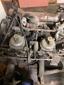 TRIUMPH TR7 carburators and intake manifold