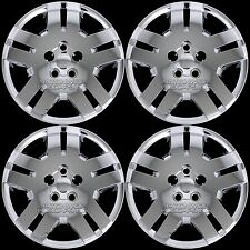 "4 Chrome 07-14 Dodge Avenger Caliber 17"" Bolt On Hub Caps Full Rim Wheel Covers"