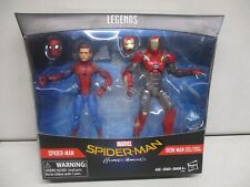 2016 Marvel Legends Spiderman Homecoming Spiderman and Iron Man
