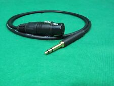CANARE L-4E5C QUAD BALANCED TT BANTAM to XLR FEMALE  CABLE , 8 FT.