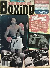 Muhammad Ali Signed 1976 Big Book of Boxing Magazine BAS Beckett COA Autograph