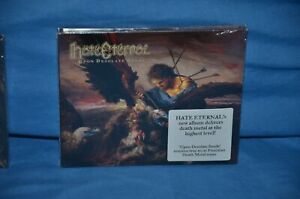 Hate Eternal 'Upon Desolate Sands' Digipak. Morbid Angel,Obituary