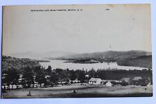 Old postcard Newfound Lake From Turnpike, Bristol, N.H., 1957