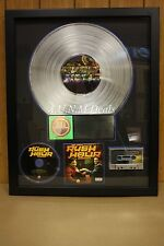 RIAA Platinum Sales Award (rush hour soundtrack)