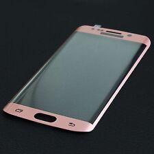 3D 9H Tempered Glas Samsung Galaxy S7 EDGE Display Schutz Folie Panzerglas Rosa