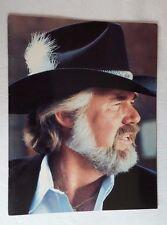 Kenny Rogers 1981 Concert Tour Program and Ticket Stub - Color Photos - Vintage